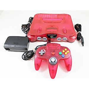 Atomic Red Nintendo 64