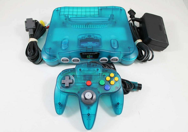 Atomic Blue Nintendo 64
