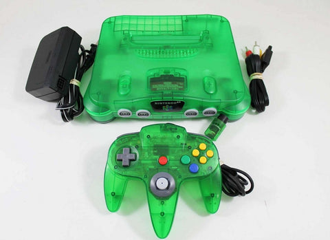 Funtastic Jungle Green Nintendo 64