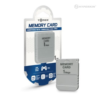 Playstation I 1MB Memory Card - Tomee