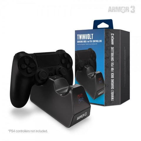 TwinVolt Charging Dock for PS4 Controllers