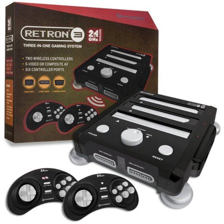 RetroN 3 Gaming Console 2.4 GHz Edition for SNES/ Genesis/ NES