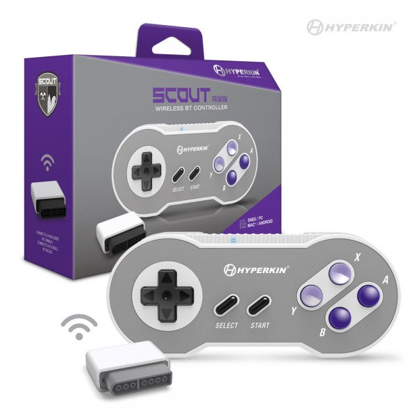 Scout Premium BT Controller for SNES/ PC/ Mac/ Android