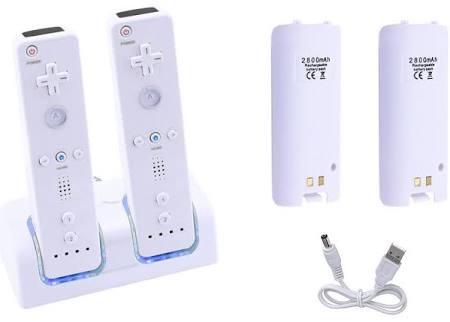 Wii Dual Charging Station for Wiimote