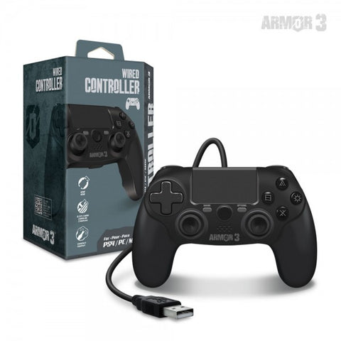 Wired Game Controller for PS4/ PC/ Mac - Armor3