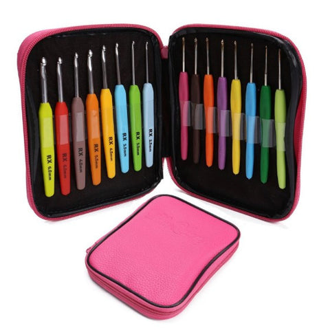 16-Piece Crochet Hook Set With A Case [FREE + Shipping]