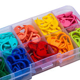 Colorful Stitch Marker Set In Storage Box [FREE + Shipping]