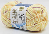 Soft Milk Cotton Baby Yarn