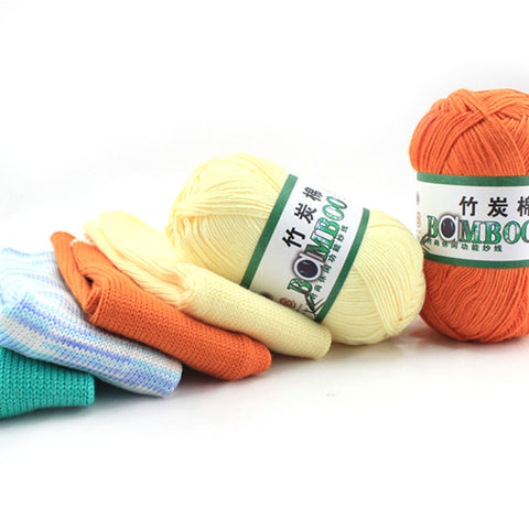 Natural Soft Bamboo/Cotton Blend Yarn