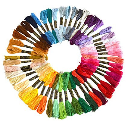 50-Color Sewing Thread Pack [FREE + Shipping]