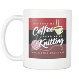 Exclusive Knitting & Coffee Mug (Standard)