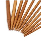 55-Piece Bamboo Double Pointed Knitting Needles Set (Medium) [FREE + Shipping]