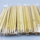 55-Piece Bleached Bamboo Double Pointed Knitting Needle Set  [FREE + Shipping]