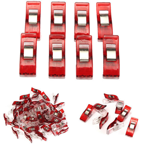 50-Pack Plastic Wonder Clips