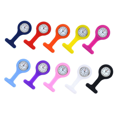 Fun Silicone Nurse Fob Watch