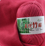Natural Soft Bamboo And Cotton Yarn