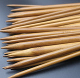 18-Piece Bamboo Circular Knitting Needles Set