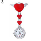 Nurse Fob Watch With Hearts