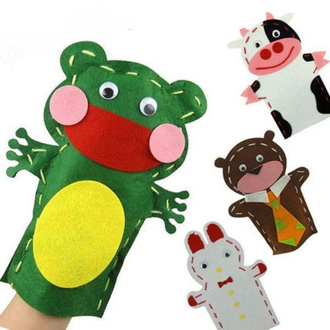 Fun DIY Felt Animal Hand Puppet Kits [FREE + Shipping]