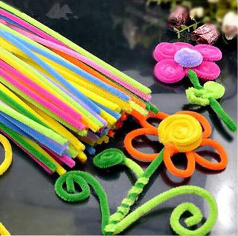 Multi-Colored Craft Pipe Cleaners