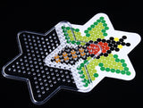 Hama/Perler-Style Bead Pegboards With Printed Templates