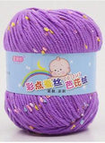 Silk Cashmere/Milk Cotton Blend Baby Yarn