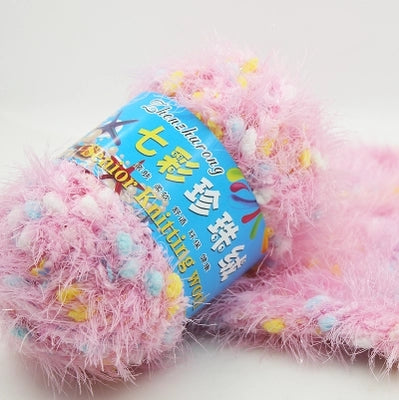 Speckled Soft Furry Yarn
