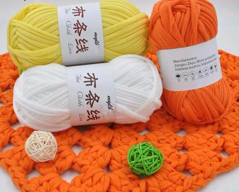 Soft Cotton T-Shirt Yarn (Bulk)