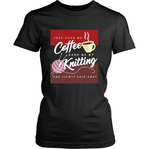 Exclusive Coffee & Knitting Women's Shirt