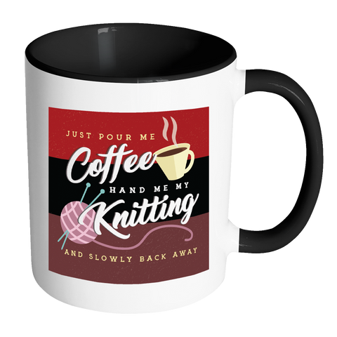 Exclusive Knitting & Coffee Mug