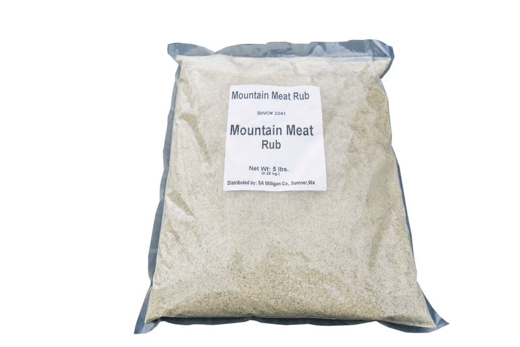 Mountain Meat Rub - 5lbs Bulk