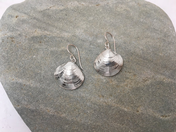 Clam Dangle Earrings