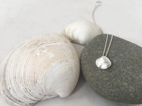 Baby Clam Slide Necklace