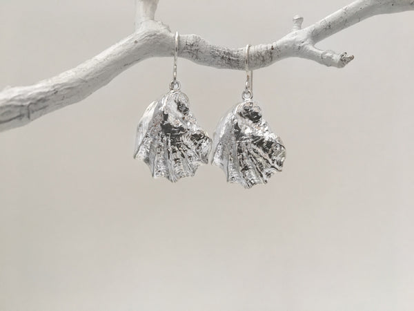 Wellfleet Oyster Dangle Earrings