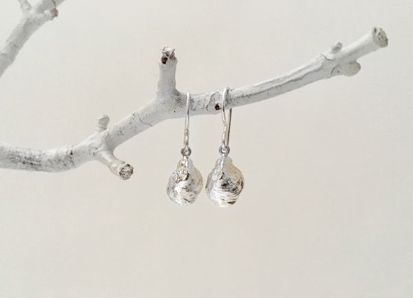 Baby Oyster Dangle Earrings