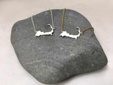 Cape Cod Silhouette Necklace