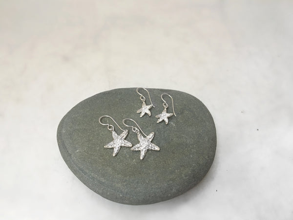 Tiny Starfish Dangle Earrings