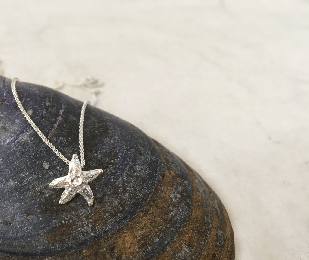 Tiny Starfish Necklace