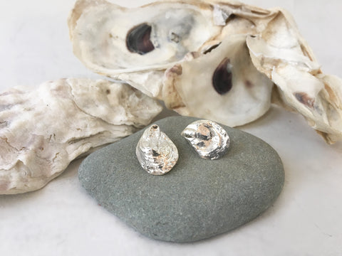 Two Halves Oyster Stud Earrings