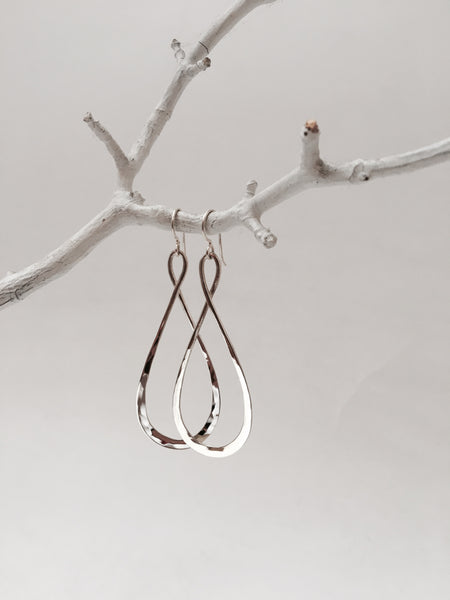 Long Infinity Earrings