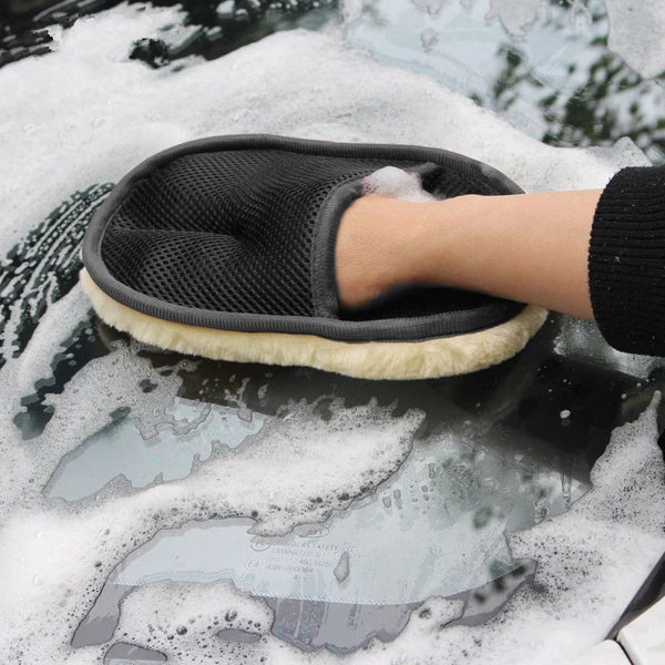 Buy One And Get One Free: Car Wash Mitt