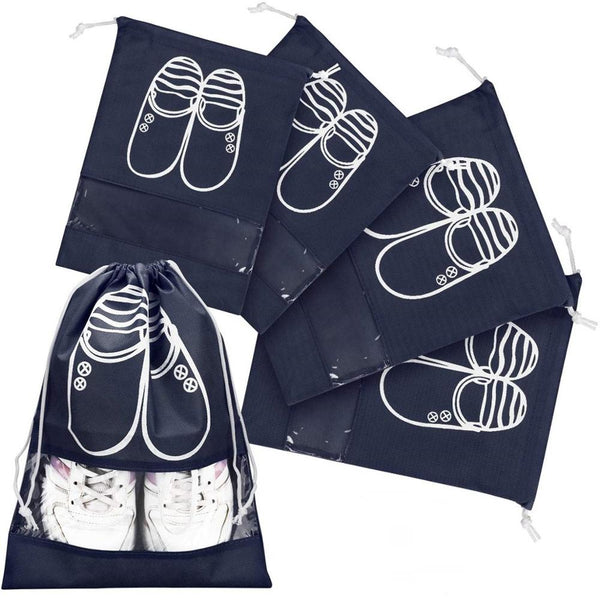 Buy One And Get One Free: Travel Shoe Organizer Set