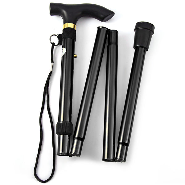T-handle Telescopic Foldable Walking Stick