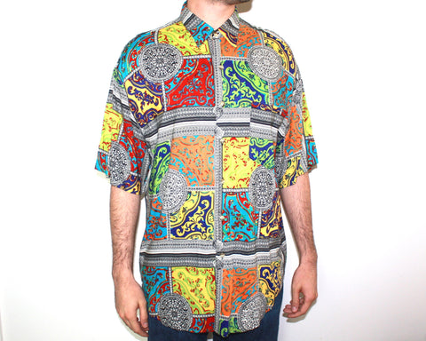 90's Union Bay Colorful Button Up Shirt