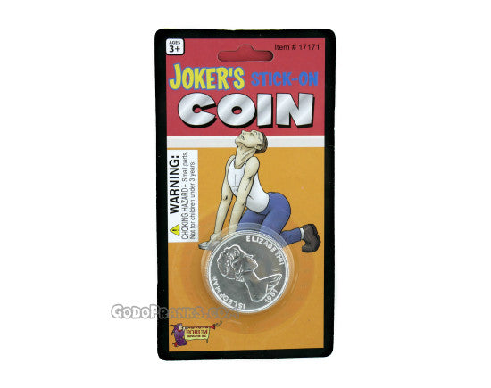 Joker's Stick On Coin