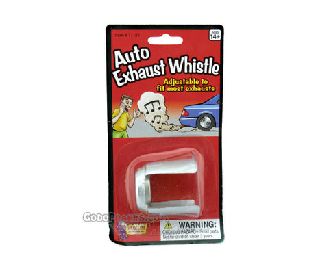 Auto Exhaust Whistle