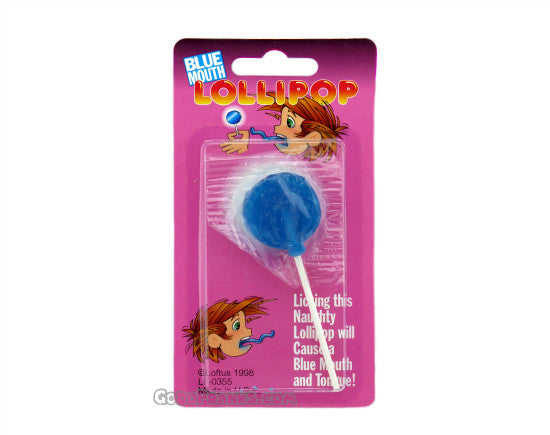 Blue Mouth Lollipop