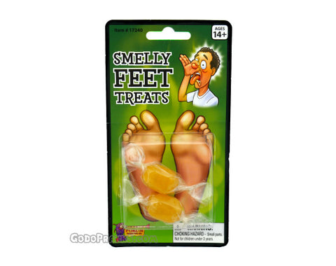 Smelly Feet Candy