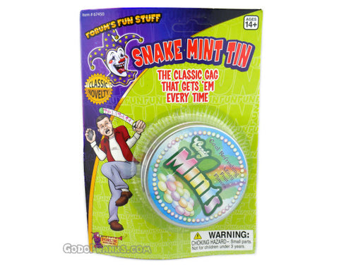 Snake Mint Can