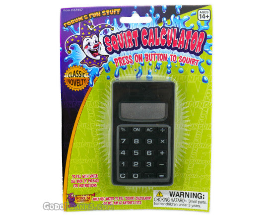 Squirt Calculator